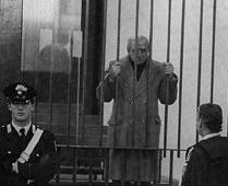 Michele Greco in jail, Palermo.