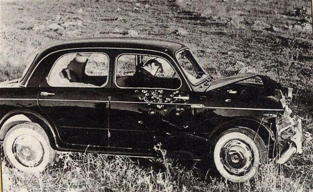 Michele Navarra ucciso nella sua macchina il capo dei capi